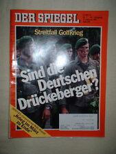 DER SPIEGEL-Nr. 7 – 11.02.1991 Streitfall Golfkrieg- Sind die Deutschen Drückebe