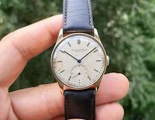 Vintage 18K Gold IWC C83 Watch All Original 1939-1940. International Watch Co.