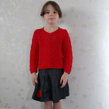 Girls Bamboo Soft Denim Skirt  Fleece Motif 1-6 Years with elasticated waist