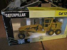 Caterpillar Cat 12G Road Motor Grader Leveller 1/50 Scale Joal Made In Spain