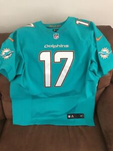 Nike Miami Dolphins Ryan Tannehill #17 Aqua Football Jersey $295.00 NWT Size 48