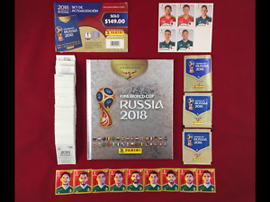 Panini Russia 2018 WC 18 Mexico Edition Album + Set + Packets + Updates + CC
