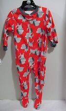 Carter's Boys  Footed Dog Dogs Pajama  size 4T