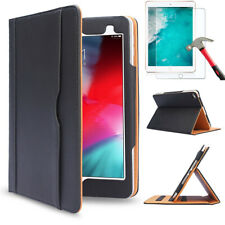 Case For iPad Mini Case 4th 5th Gen.Glass Film Leather Stand Folio Smart Cover