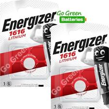 2 x Energizer CR1616 1616 3V Lithium Coin Cell Batteries DL1616 KCR1616, BR1616