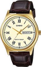 Relojes de pulsera de oro de día y fecha
