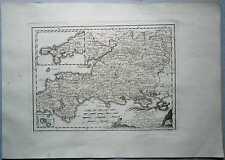 1791 Reilly map SOUTHWESTERN ENGLAND