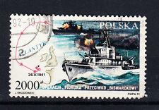 """Polen Briefmarken 1991 Operation gegen die """"Bismarck"""" Mi.Nr.3332"""