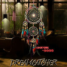 luxury beaded feathers dream catcher handicraft home living room decoration