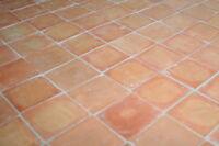 1m² Terrakotta Bodenplatten natur rot 10x10cm - traditionelle Cotto Fliesen