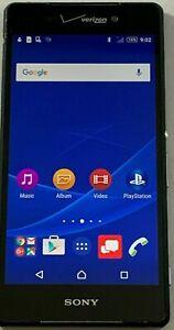 Sony Xperia Z3v 32GB - Black (Verizon) Smartphone