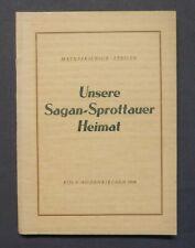 Matuszkiewicz / Steller, Sagan - Sprottau Heimat, Primkenau, Schlesien, 1956