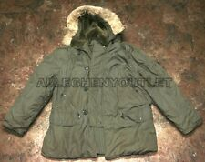 US Military USAF Cold Weather ECW N-3B N3B SNORKEL PARKA JACKET COAT LARGE UGC