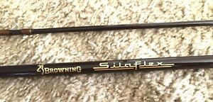 """Browning SilaFkex Fly Fishing Rod 8'6"""" # 6-7 Line Ready To Fish Or Display"""