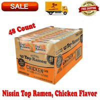 2 Pack Nissin Top Ramen, Chicken Flavor, 3 Ounce, No Added MSG, No Trans Fat
