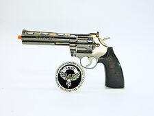 Metal gun scale model - Scale 1:2 Colt 357 Python legendary miniature gun W