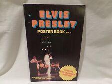 Vintage 1977 Elvis Presley Poster Book Volume 1