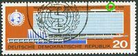 DDR Nr. 1178 II gestempelt Plattenfehler G von Genf verstümmelt 1966 used
