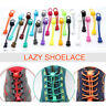 2X Elastic No-Tie Locking Shoelaces Shoe Laces with Buckles for Sport Shoes Xmas