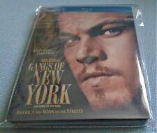 GANGS OF NEW YORK - BLU RAY CANADIAN STEELBOOK -