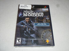 BRAND NEW FACTORY SEALED PLAYSTATION 2 GAME SYPHON FILTER LOGANS SHADOW PS2 NFS