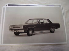 1969 PLYMOUTH VALIANT   11 X 17  PHOTO   PICTURE