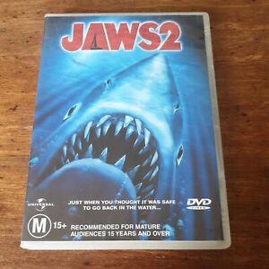 Jaws 2 DVD R4 Like New! FREE POST