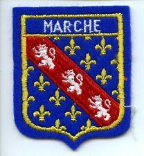 Ancien Ecusson Brodé Insigne Patch tissu MARCHE
