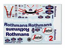 "GPD DECALS F1 1/18 1994 Williams FW16 Hill Senna Mansell ""Race Livery Fill-In"""