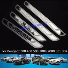 Peugeot 207 208 308 2007 3008 406 Portes Acier Inoxydable Porte Seuil plaques
