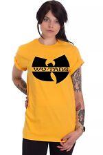 Wu Tang Clan Logo Method Man Ghostface PDX59 Free UK Postage Unisex Yellow Tee