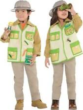 Child Jungle Explorer Costume Boys Girls Safari Fancy Dress Book Week Zoo Keeper