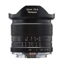 Obiettivo 7artisans 12mm f/2.8 ultra-wide per Fuji X