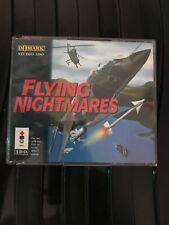 Flying Nightmares 3DO Game Uk CiB Double Jewel Case