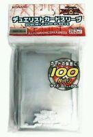 (100) Konami Yu-Gi-Oh! Zexal Official Card Game Duelist Clear Sleeve Protector