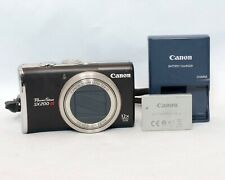 Canon PowerShot SX200 IS 12.1MP 12x Optical Zoom Lens Digital Camera Black