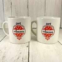 Cafe Molido  Veracruz Coffee Espresso Cups  Set Of Two Preowned