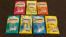 Dreamies Cat Treats With Cheese,Tuna,Chicken,Salmon Mega Soft Inside,Crunchy Out