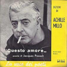 QUESTO AMORE - BARBARA poesie di Jacques Prevert = ACHILLE MILLO fisa F. Scarica
