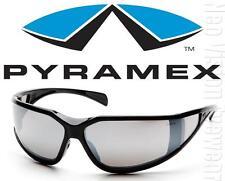 Pyramex Exeter Silver Mirror Anti Fog Lenses Safety Glasses Sunglasses Z87+