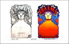 Follies 1971 Broadway Poster Concept Sketch + Image New Signed David Byrd