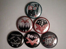 "6 x Cock Sparrer 1"" Pin Button Badges ( Street punk rock oi skinhead music )"