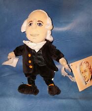Alexander Hamilton Famous Be'an Collectible Creation Station Plush Doll Figure