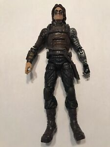 Marvel Legends Winter Soldier, Bucky, Captain America, Mandroid, Shield, Loose