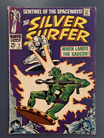 SILVER SURFER #2 1968 VG WHEN LANDS THE SAUCER! Marvel Comics