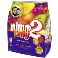 STORCK - NIMM 2 LOLLY - 120 g bag - orange / lemon - German product