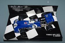 Minichamps F1 1/43 Tyrrell Ford 003-F. CEVERT - 1971