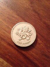 2000 Galés Dragón £ 1 Una Libra Moneda