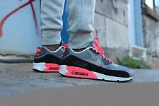 "Nike Air Max 90 PRM ,,Safari"" Mens Shoes Sz 8.5 700155-006 Safari/Black-Grey"