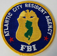 FBI Federal Bureau of Investigation Atlantic City Resident Agency Cloth Patch